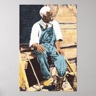 América negra viejo Joe Posters