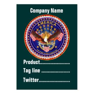 América no olvidada 1 negocio Vert de la tarjeta Plantillas De Tarjetas Personales