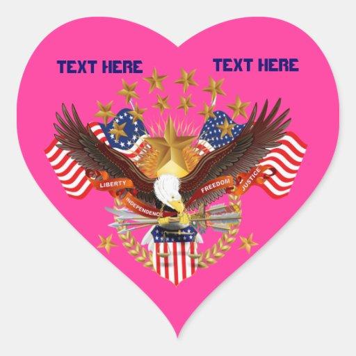América no se olvida que el corazón considera pegatina en forma de corazón