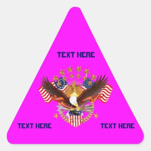 América no se olvida que el triángulo considera pegatina triangular