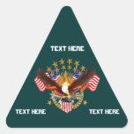 América no se olvida que el triángulo considera so calcomanías trianguloes