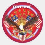 América no se olvida que Rnd satisface solamente v Etiqueta Redonda
