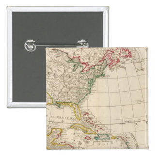 America north pinback buttons