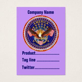 America Not Forgotten 1 Card Business Vert. Notes