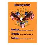 America Not Forgotten 2 Card Business Vert. Notes Business Card
