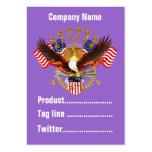 America Not Forgotten 2 Card Business Vert. Notes Business Card Templates