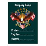 America Not Forgotten 2 Card Business Vert. Notes Business Cards