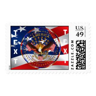 America Not Forgotten V-3 No Background Stamp