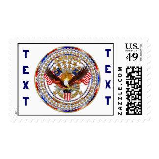 America Not Forgotten V-3 No Background Postage Stamp