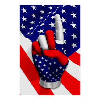 America Number One Poster