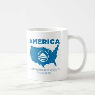 America Obama Classic White Coffee Mug