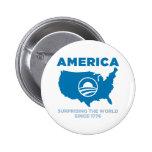 América Obama Pin