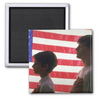 America Patriotic 505A Refrigerator Magnet
