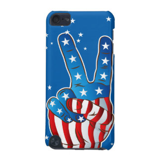 America Patriotic Victory Hand Fingers  iPod Touch iPod Touch (5th Generation) Case