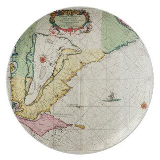 America, plate 17 from 'Le Nouveau et Grand Illumi