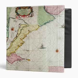America, plate 17 from 'Le Nouveau et Grand Illumi Vinyl Binder