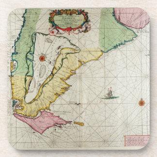 America, plate 17 from 'Le Nouveau et Grand Illumi Coaster