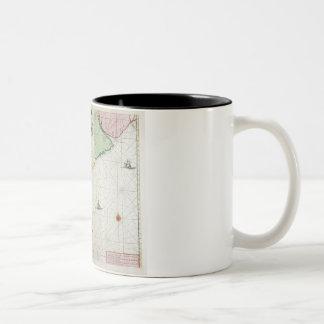 America, plate 17 from 'Le Nouveau et Grand Illumi Two-Tone Coffee Mug