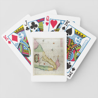 America, plate 17 from 'Le Nouveau et Grand Illumi Bicycle Playing Cards