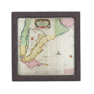 America, plate 17 from 'Le Nouveau et Grand Illumi Premium Trinket Box