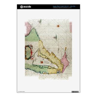 America, plate 17 from 'Le Nouveau et Grand Illumi iPad 3 Skin