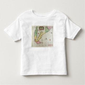 America, plate 17 from 'Le Nouveau et Grand Illumi T-shirt