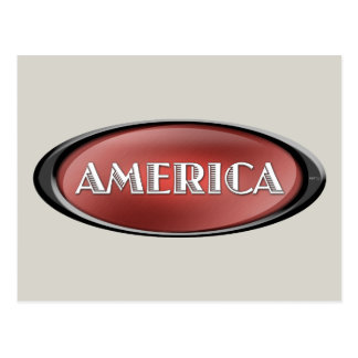America Postcard
