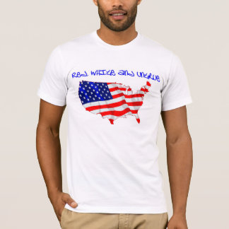 America red, white and untrue T-Shirt
