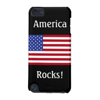 America Rocks!-American Flag iPod Touch 5G Cover