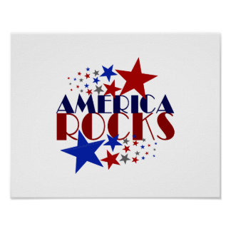 America Rocks Poster