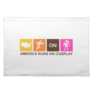 America Runs on Cosplay Placemat