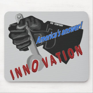 America's answer - INNOVATION Mousepad
