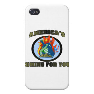 America 's Coming For You! iPhone 4 Cases
