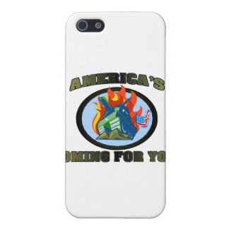 America 's Coming For You! iPhone 5 Covers