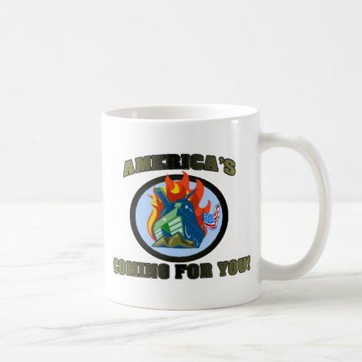 America 's Coming For You! Classic White Coffee Mug