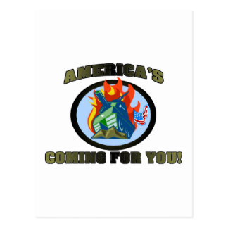 America 's Coming For You! Post Cards