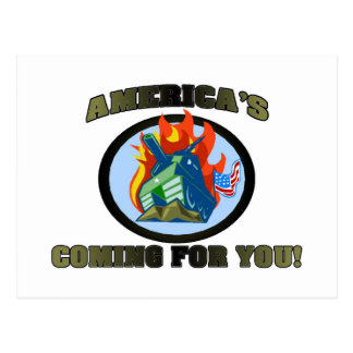 America 's Coming For You! Post Card
