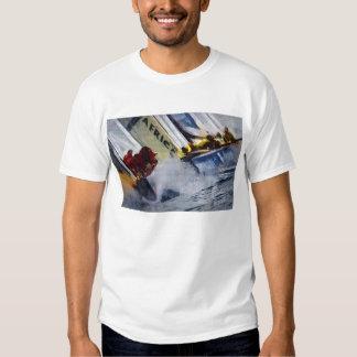 america s cup Sailing, sailboat, sailboat race T Shirt