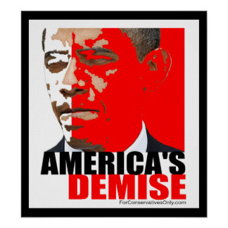 America s Demise Poster