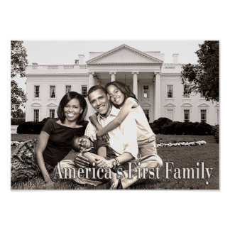 America s First Family Poster