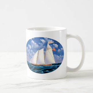 America (schooner yacht) by James Bard Coffee Mug