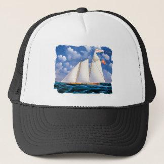 America (schooner yacht) by James Bard Trucker Hat
