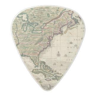 America Septentrionalis Acetal Guitar Pick