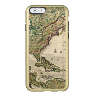 América Septentrionalis Funda Para iPhone 6 Plus Incipio Feather Shine