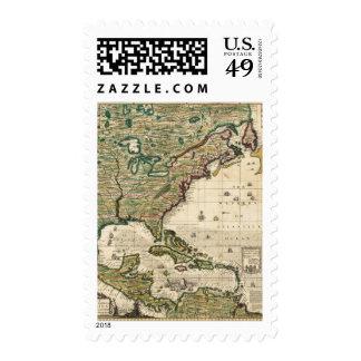 America Septentrionalis Postage Stamp