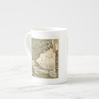 América Septentrionalis Taza De Porcelana
