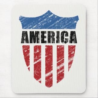 America Shield Mouse Pad