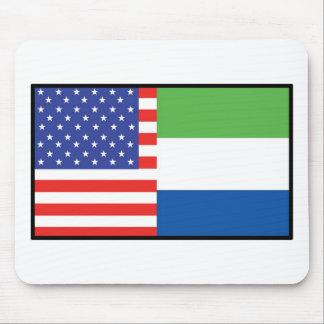 America Sierra Leone Mouse Pads