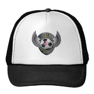 America Soccer Crest Mesh Hats