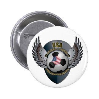 America Soccer Crest Pin